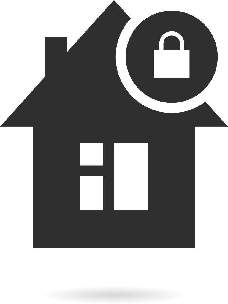 bezpieczny dom ikona